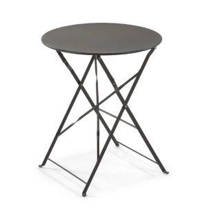 tavolo in acciaio giardino