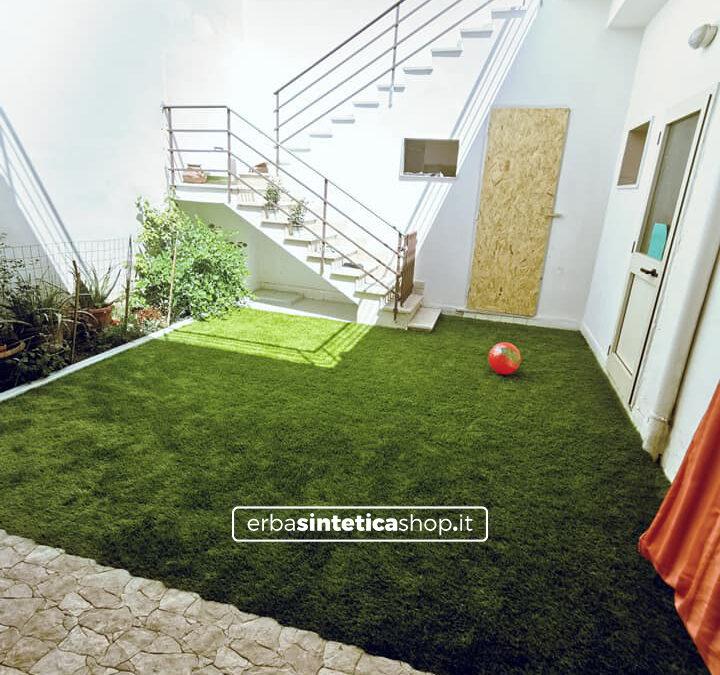 La morbidezza dell'erba sintetica Soft 60mm